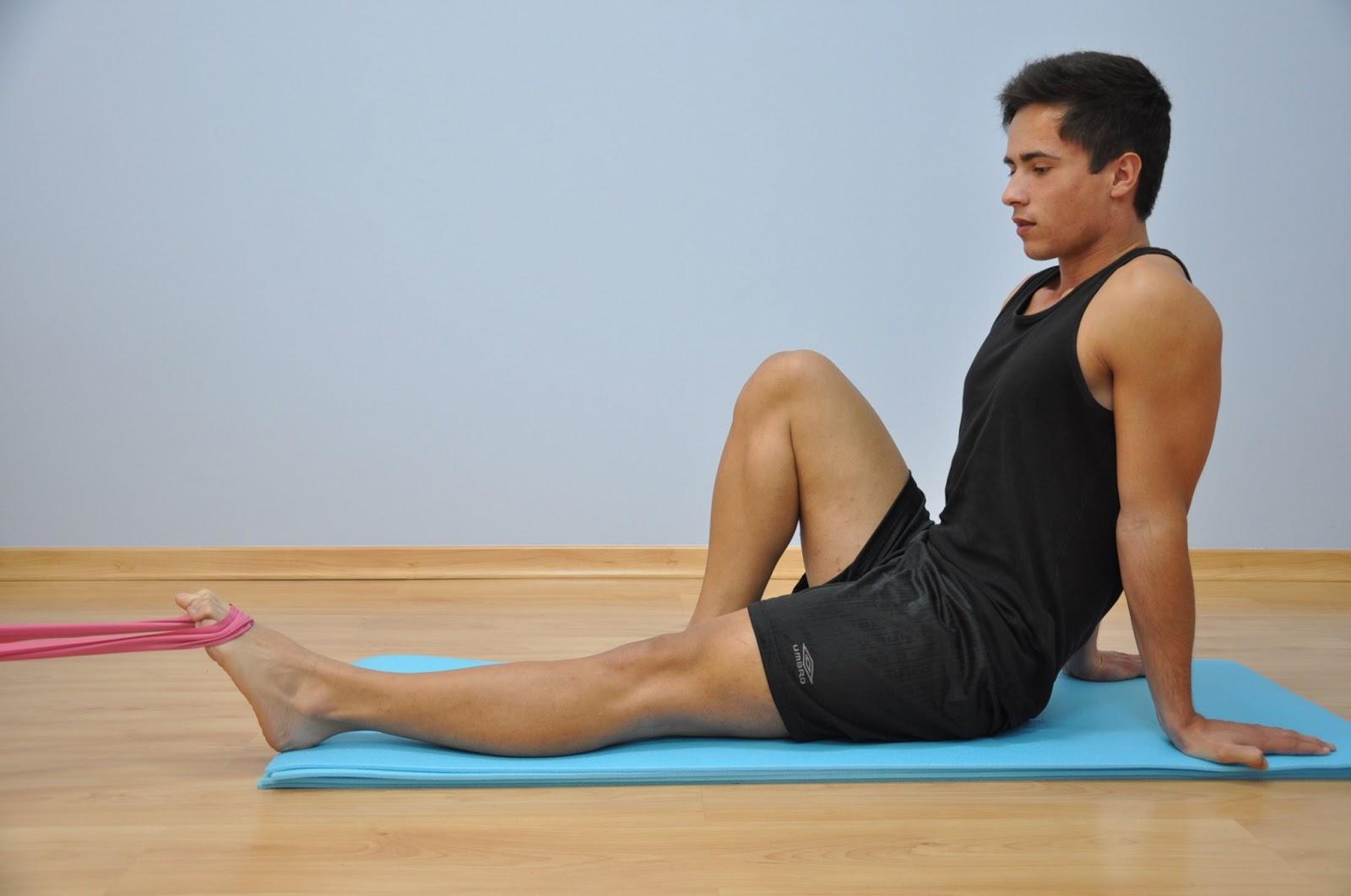 Exercícios terapêuticos para as fracturas dosmetatarsos e dedos do