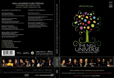 Various Artists: The New Universe Music Festival 2010 ...