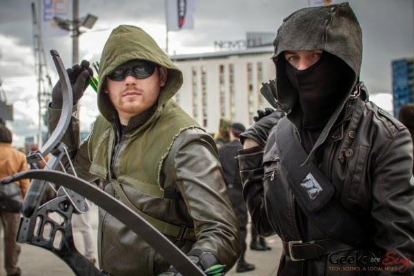 Зеленая Стрела и Темный Лучник