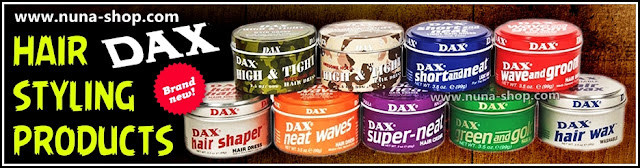 Dax Hair Styling Products Brand Banner