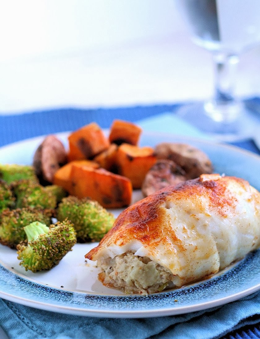 Easy Baked Crab-Stuffed Tilapia