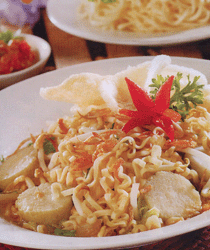 Resep Masakan Indonesia Mie Lontong Sayur