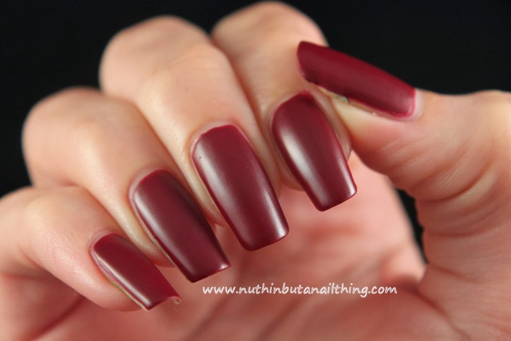 nuthin\' but a nail thing: Barry M Matte Nail Paint - Full Collection ...