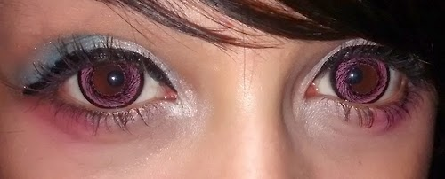 I.Fairy Hanabi Pink colored contacts