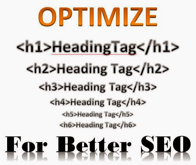 proper use of heading tags for better seo