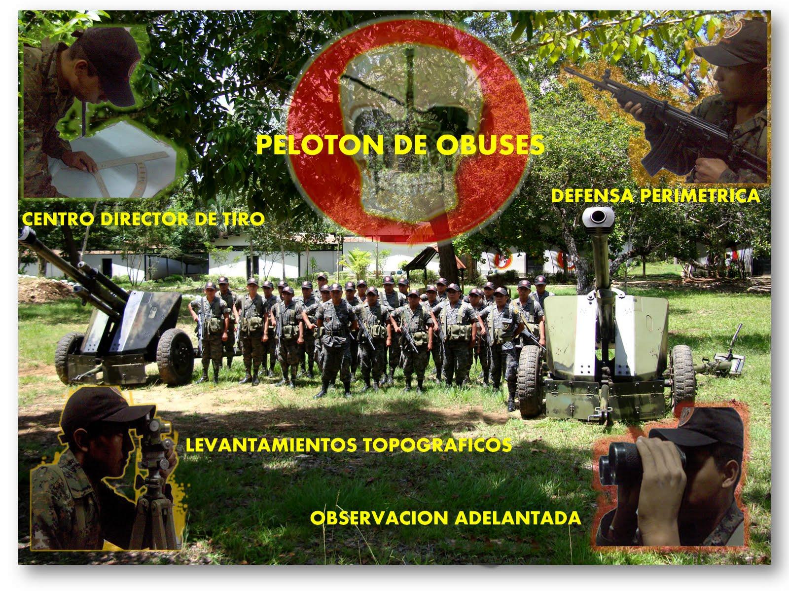 HISTORIA DE LA ARTILLERIA DE GUATEMALA