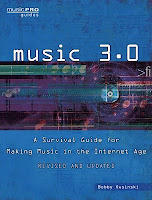 Music 3.0 book cover image from Bobby Owsinski's Music 3.0 blog