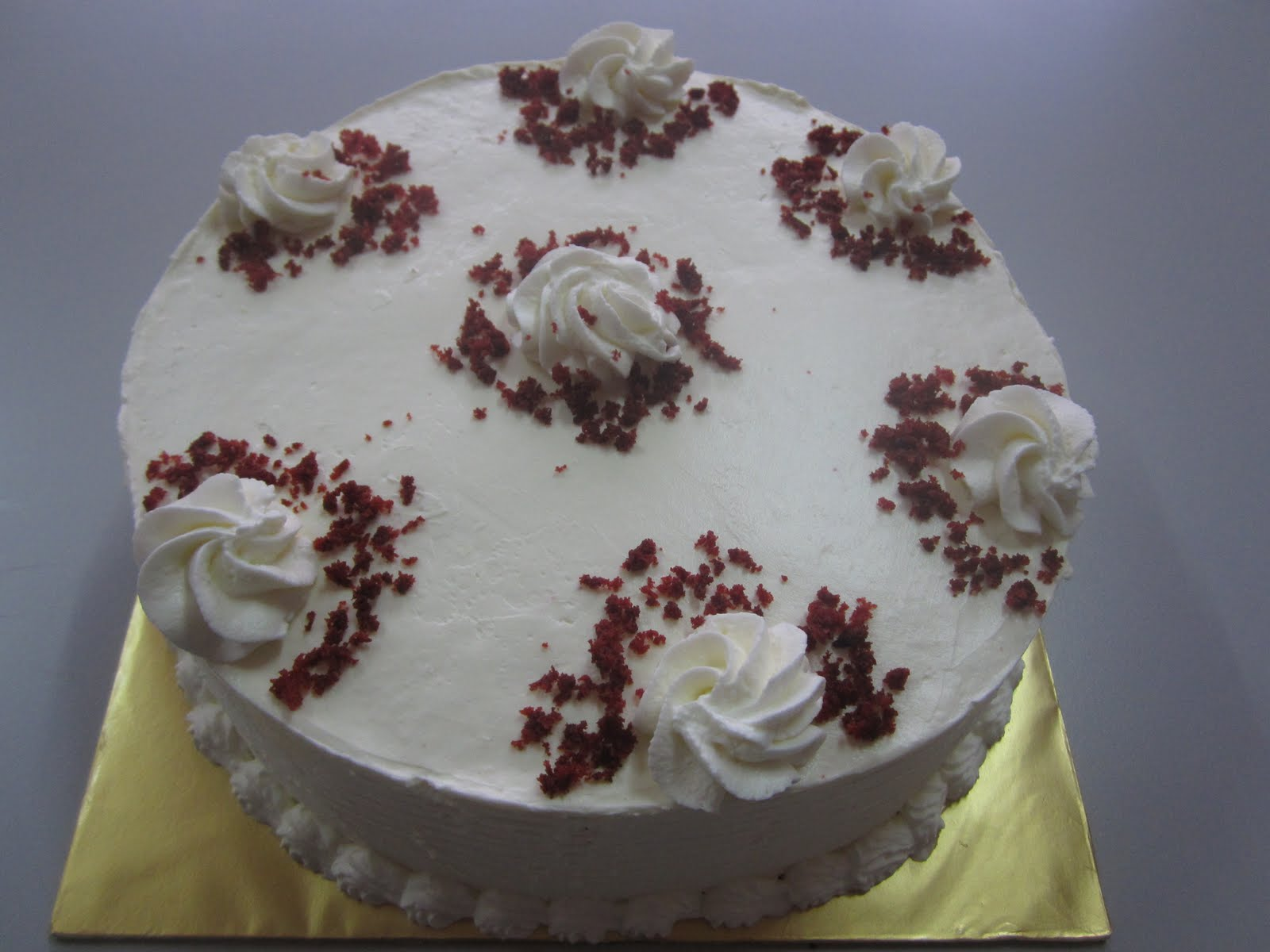 31/12/2011 - Sabtu. Red velvet kek ni penutup order 2011hehe ;)
