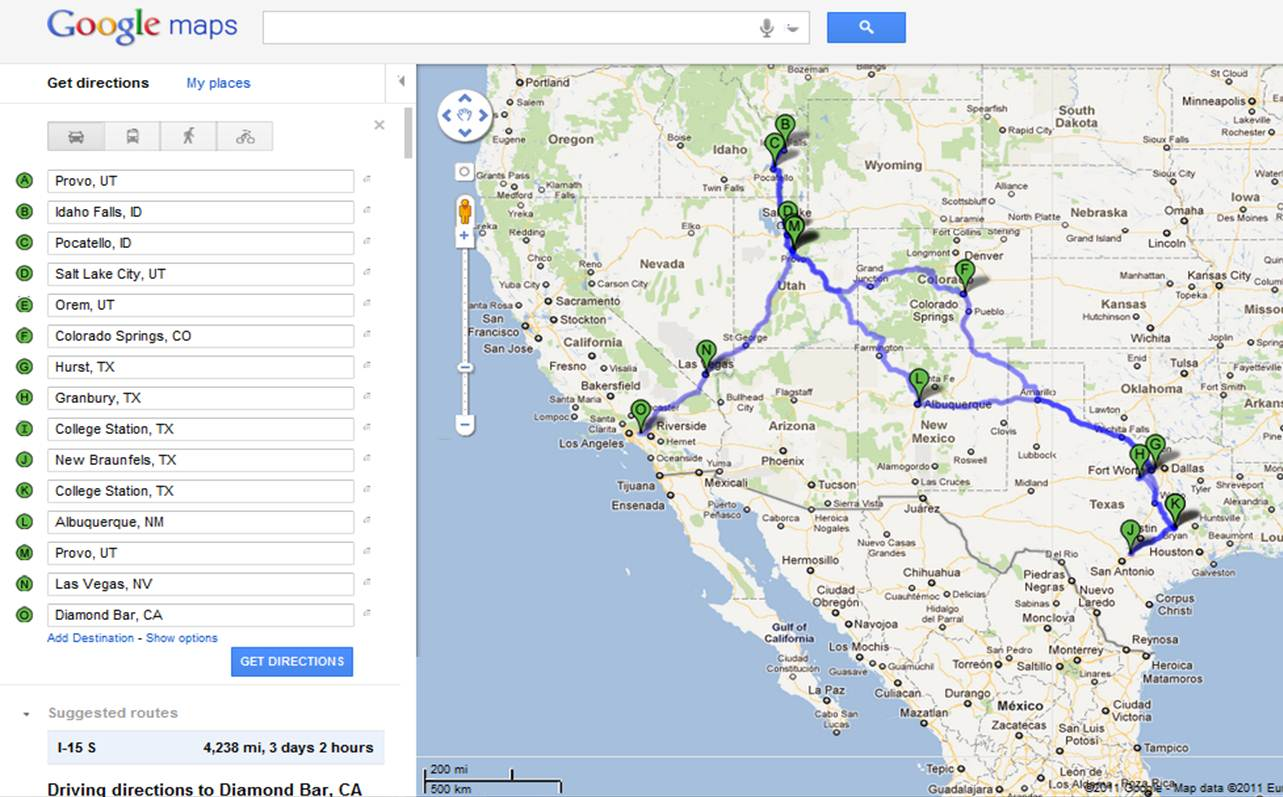 if you ve been wondering where exactly we ve been the last few weeks here is a map of our travels