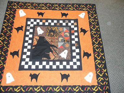 Haloween quilt
