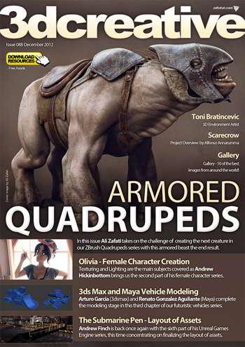 3DCreative Magazine Issue 088 December 2012