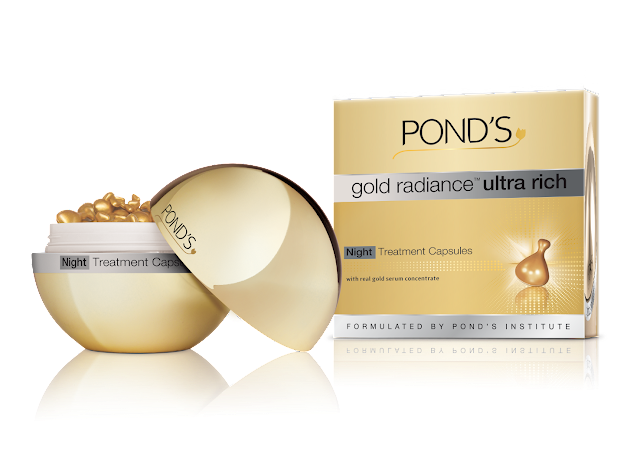 gold radiance™ Ultra Rich Night Treatment Capsules