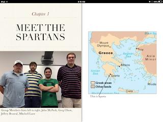Screenshot of Final iBook