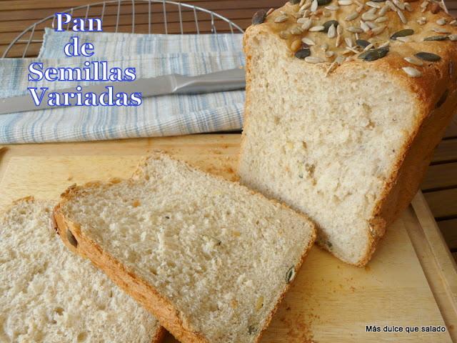 Pan de Semillas Variadas