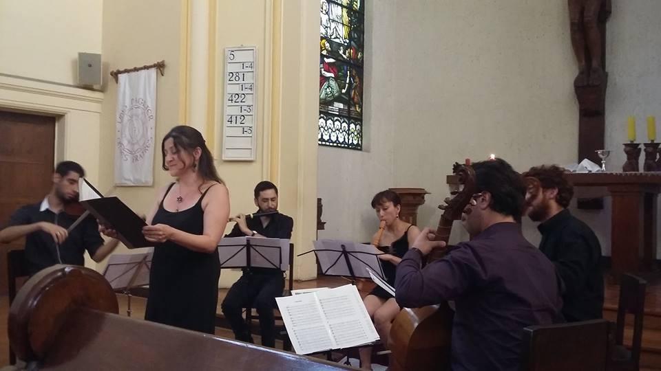 Concierto XI Festival Internacional de Música Antigua Europea y Americana USACH