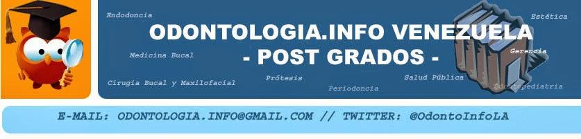 Odontologia.Info Venezuela - Post Grados -