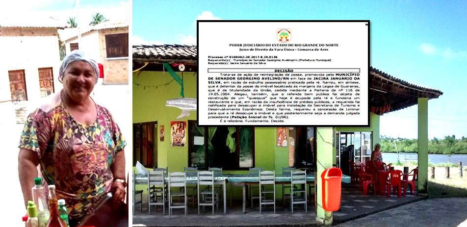 Após Prefeitura de Georgino Avelino entrar com Ação de Reintegração de Posse, proprietários de Rest