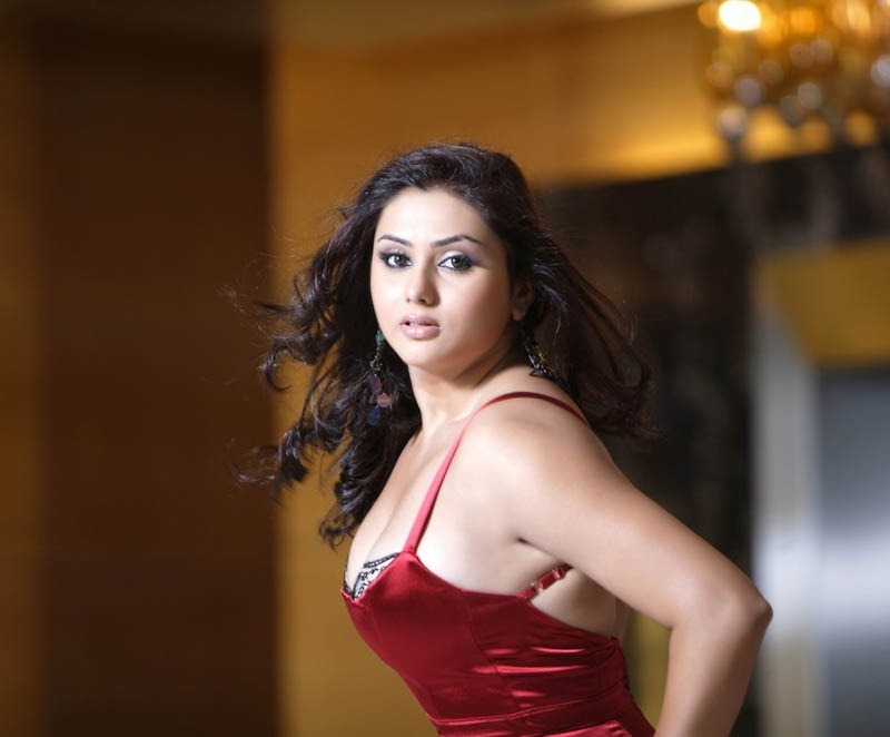 namitha red dress hot pic - Namitha red dress
