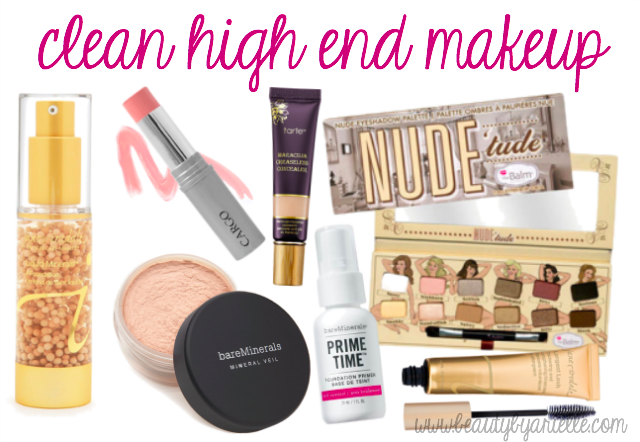 clean high end makeup