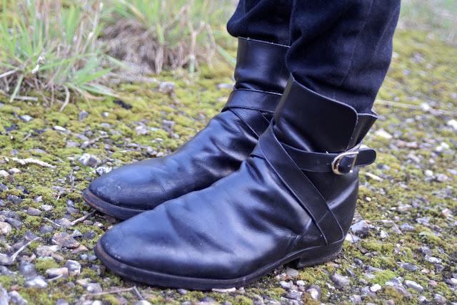 boots à boucles vintage blog mode homme