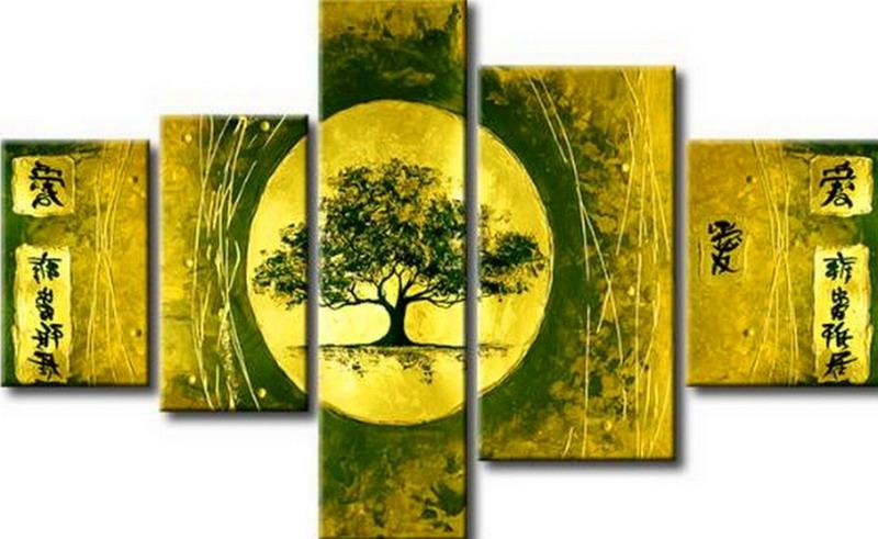 Cuadros modernos pinturas y dibujos sofisticados cuadros tripticos abstractos modernos para for Imagenes de cuadros abstractos tripticos