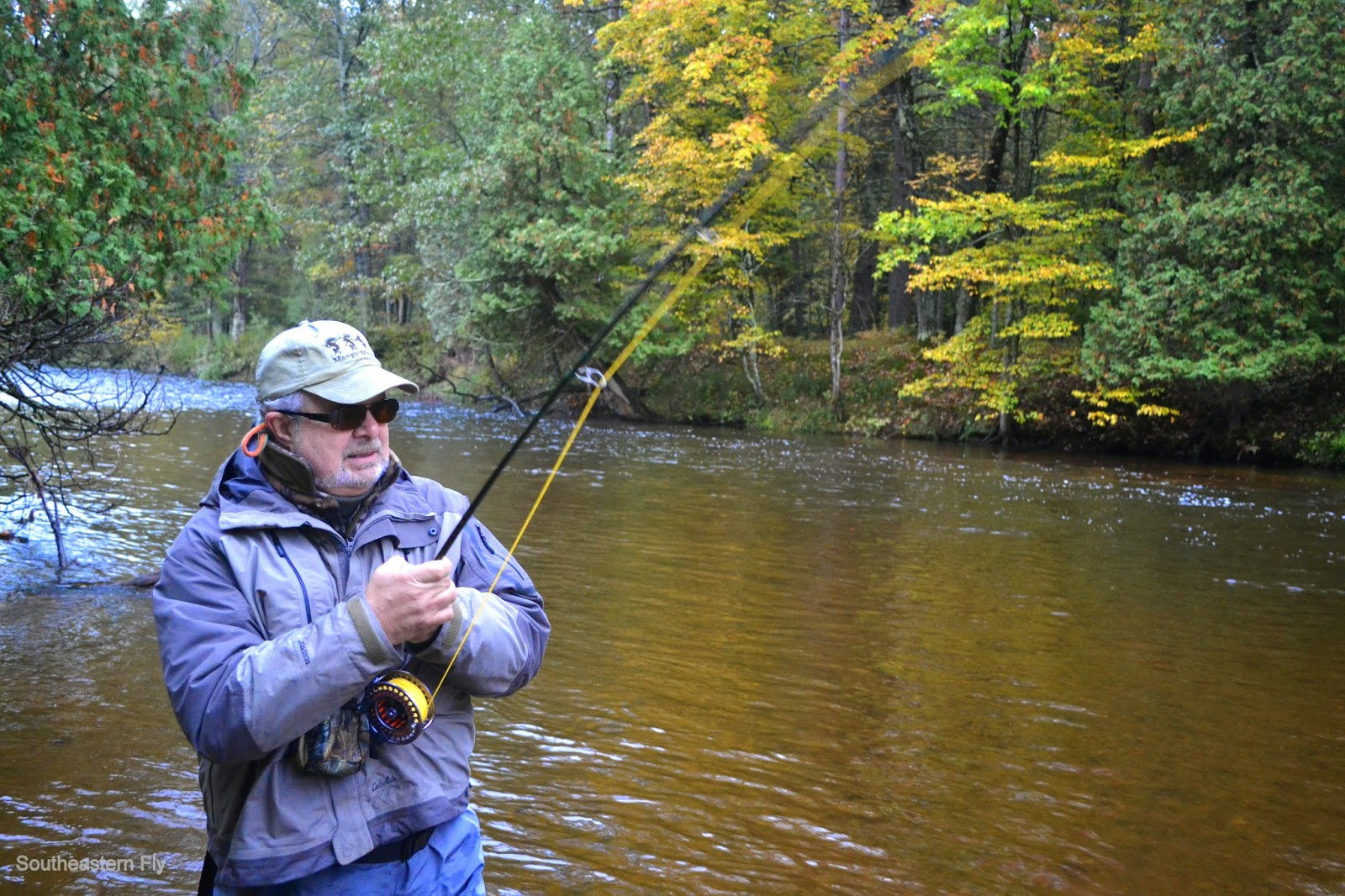 Southeastern fly fly fish michigan for Fly fishing michigan