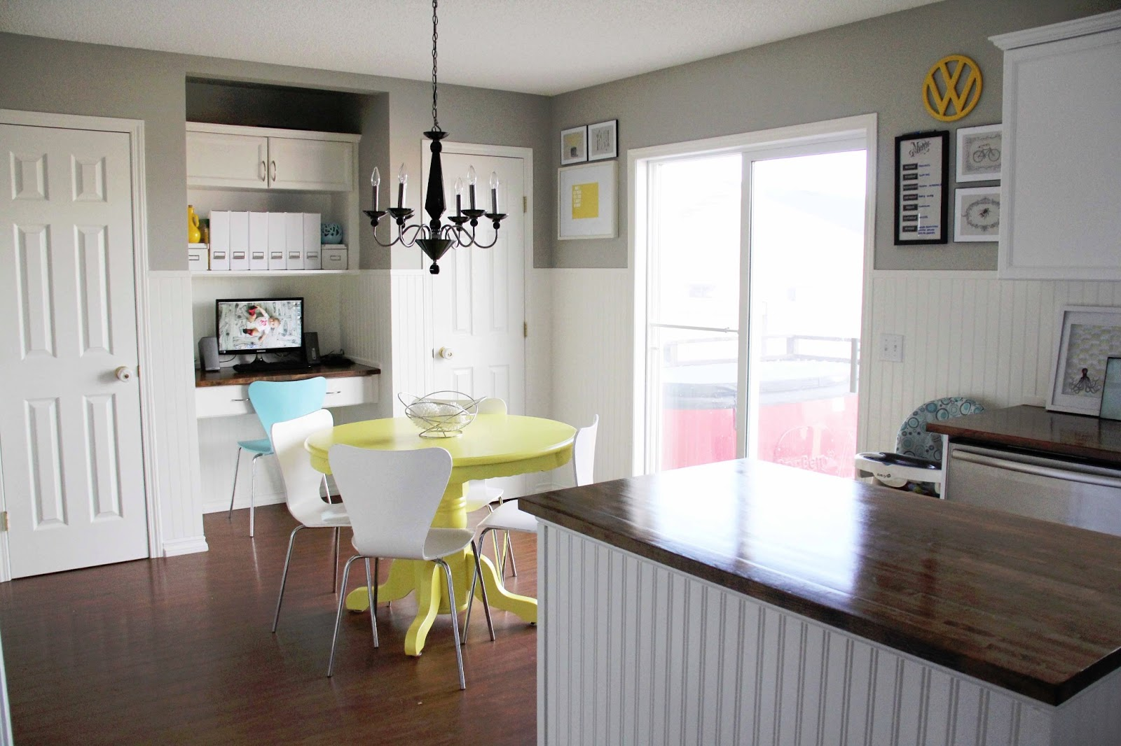 Bright Family Kitchen DIY Under $500 - Brooklyn Berry Designs