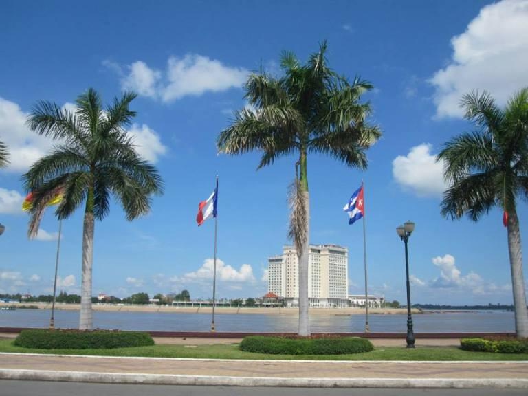Cambodia-river-front