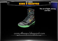 NBA 2K14 Official Roster Update : February 14th, 2014 with All-Star Patch with Kobe 9 Maestro Sneakers