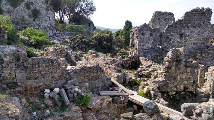 Руины Старого Бара, Черногория