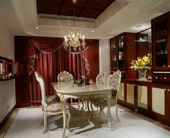ruang makan klasik