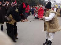 Uratura pentru jocul ursului de Anul Nou
