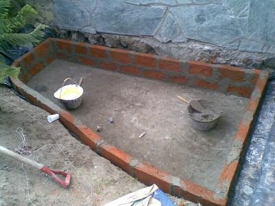 El maestro de obras xavier valderas construir un muro de for Como levantar una casa