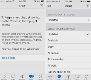 Descargar WhatsApp para iOS 7