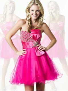 Vestido Chicle de NocheVieja 2012