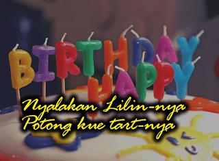Pada saat agama nasrani lahir, ulang tahun dijadikan kebudayaan orang