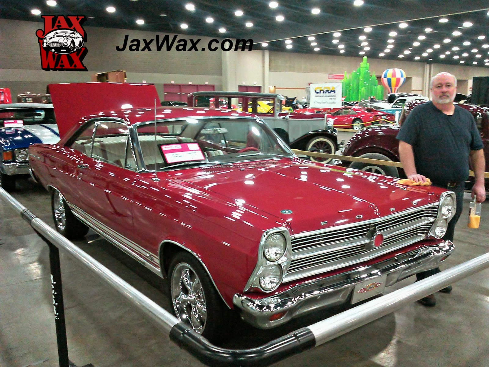 1966 Ford Fairlane Carl Casper Auto Show Jax Wax Customer