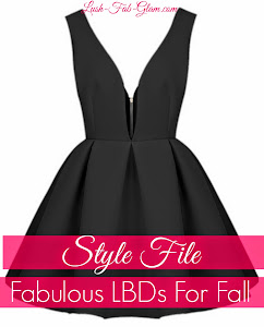 End Of Summer Into Fall Style Guide: Featuring a sexy twist on the classic Little Black Dress!