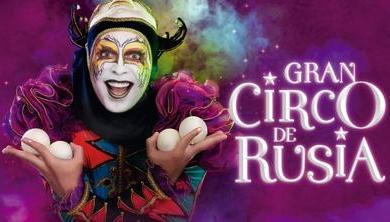 Gran Circo de Rúsia en Arequipa - del 31-08 al 01 de set