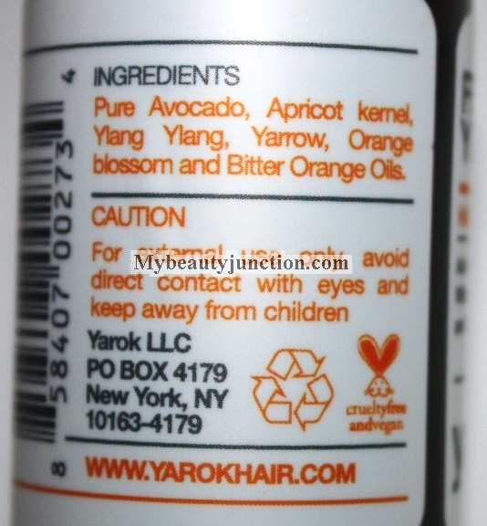 Yarok Feed Your Youth Hair and Scalp Serum review and anti-dandruff usage