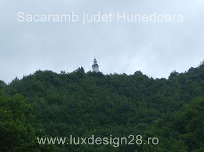Biserica in satul Sacaramb - judet Hunedoara
