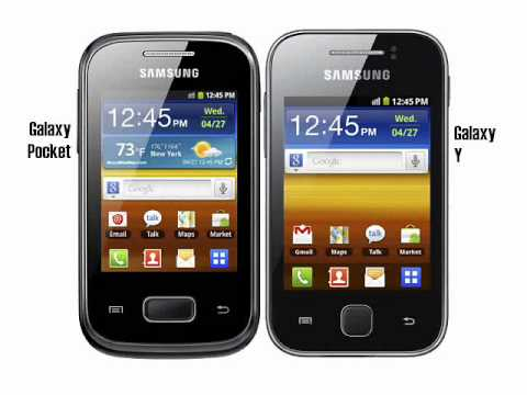 Samsung Galaxy Young & Samsung Galaxy Pocket