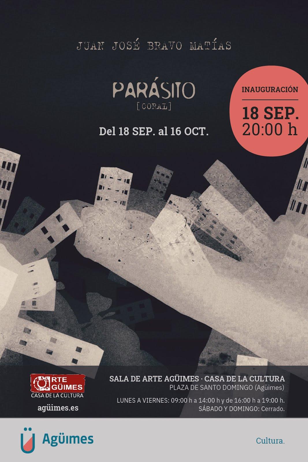 """Parásitos (Coral)"", de Juan José Bravo Matías, en la Sala de Arte Agüimes"