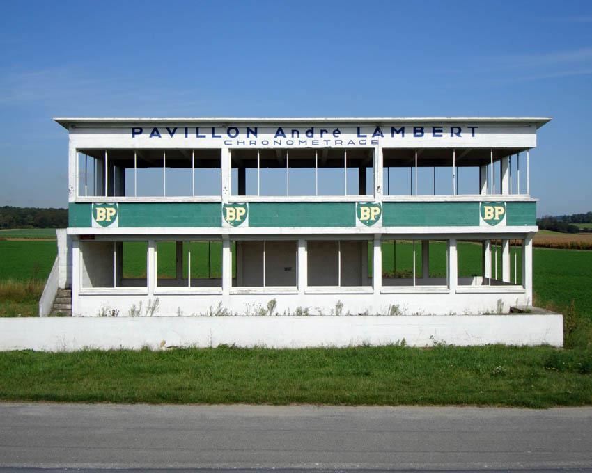 Circuit de Reims batiment de chronométrage 1/32 éme Pavillon%2BLambert