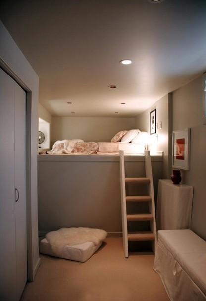Boiserie c tutto in una stanza molto stile in poco spazio - Divano poco spazio ...