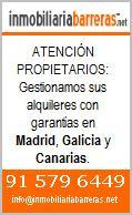 Pisos Madrid Vigo y Tenerife