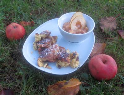 Kaiserschmarrn mit Apfelmus