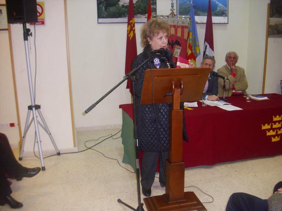 Invitada en la Casa Regional de Murcia y Albacete