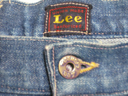 early40's Lee COWBOY DENIM PANTS  SIZE:36×30