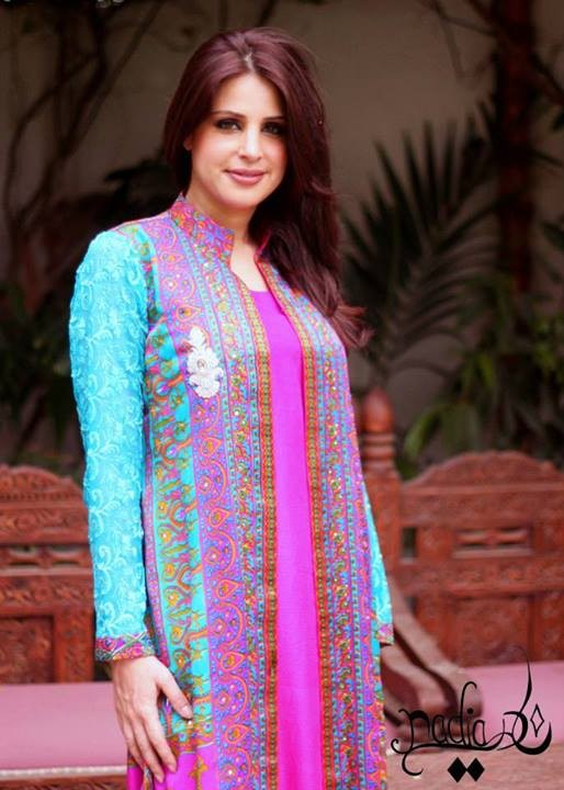 Nadia Farooqui Latest Eid Dresses Collection 2013